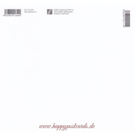 Rotkehlchen - Mila Marquis Postkarte