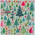 Tannenbäume - Mila Marquis Postkarte