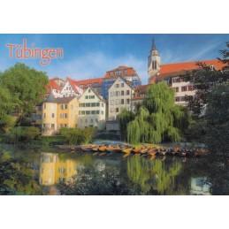 Tübingen - Neckar - Postcard