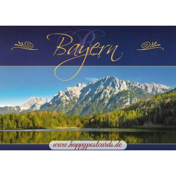 Karwendel - Bavaria - Viewcard