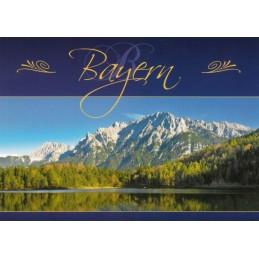 Karwendelmassiv - Bayern - Ansichtskarte