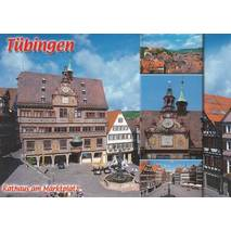 Tübingen - Marktplatz - Postcard