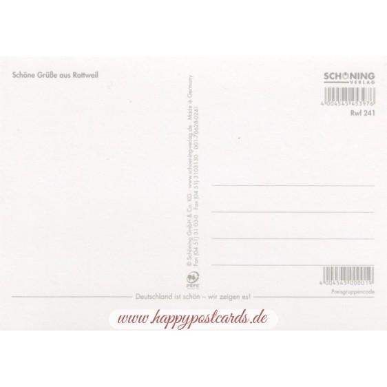 Rottweil - Postkarte