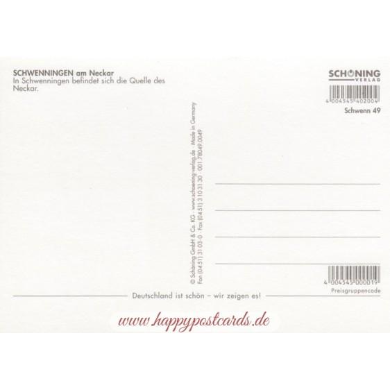 Schwenningen - Postkarte