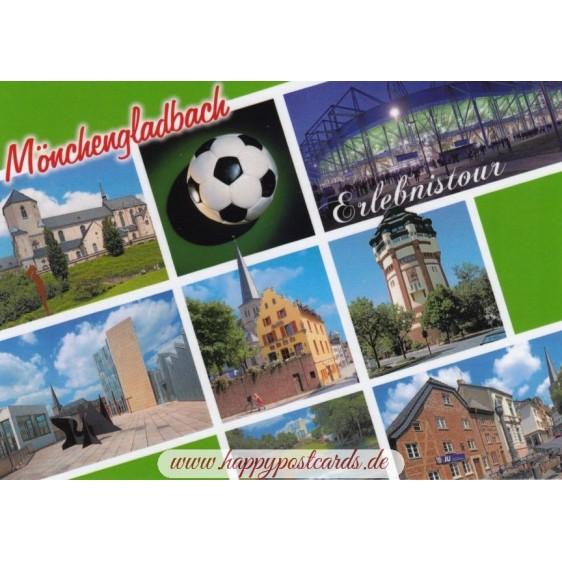 Mönchengladbach - Erlebnistour - Ansichtskarte