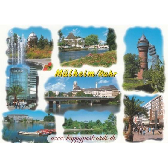 Mühlheim an der Ruhr 2 - Ansichtskarte