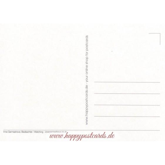 Beobachter - Garmashova Postkarte
