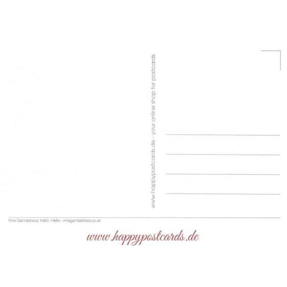 Hello - Garmashova - Postcard