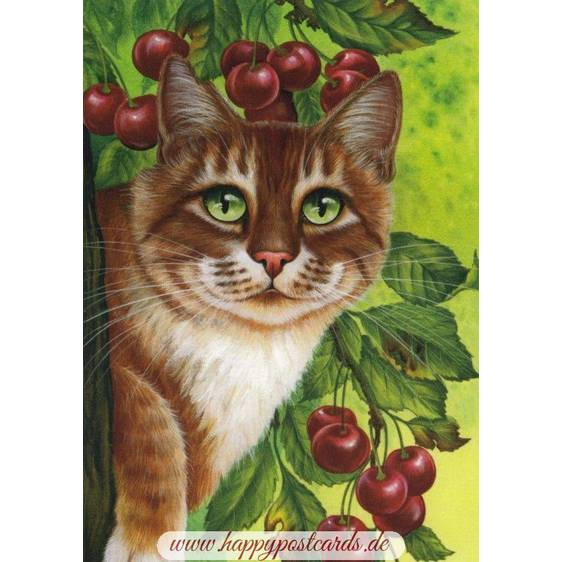 Cherries - Garmashova - Postcard