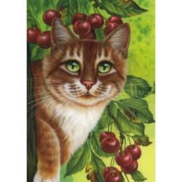 Kirschbaum - Garmashova Postkarte