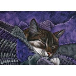 Süße Träume - Garmashova Postkarte