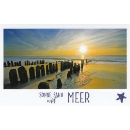 Sonne, Sand und Meer - HotSpot-Card