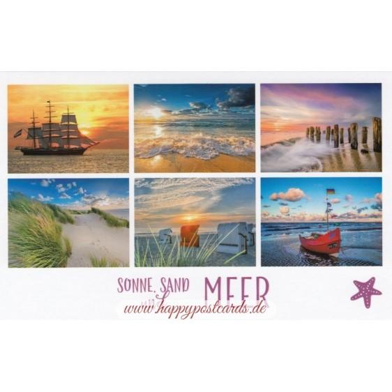 Sonne, Sand und Meer 2 - HotSpot-Card