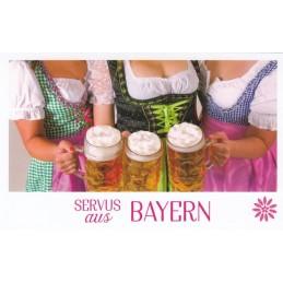 Servus aus Bayern - HotSpot-Card