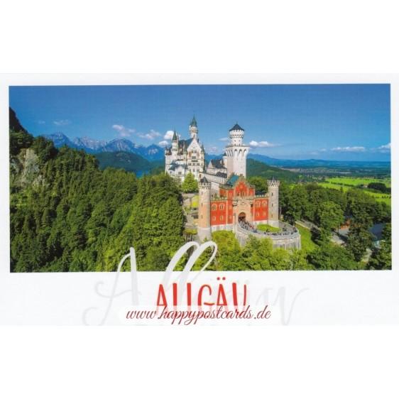 Allgau - Castle Neuschwanstein - HotSpot-Card