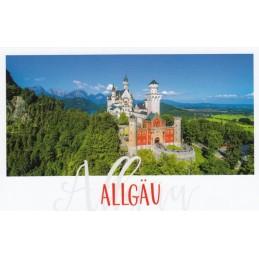 Allgäu - Schloss Neuschwanstein - HotSpot-Card