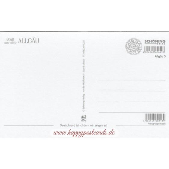 Gruß aus dem Allgäu - HotSpot-Card