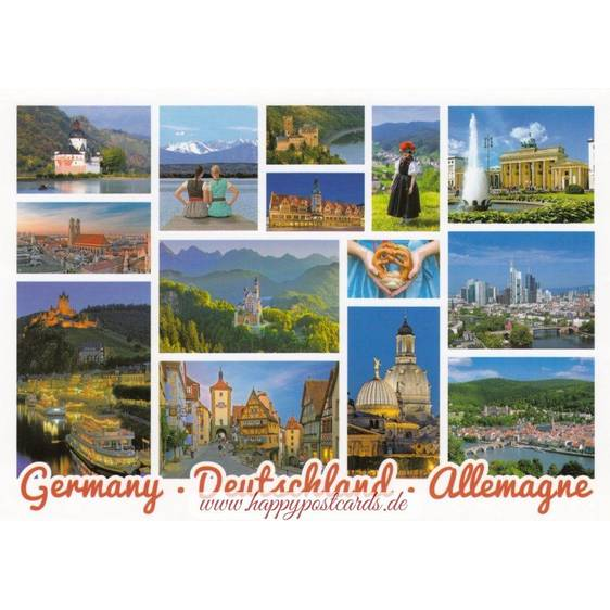Germany - Impressions - Viewcard