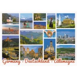 Germany - Eindrücke - Ansichtskarte