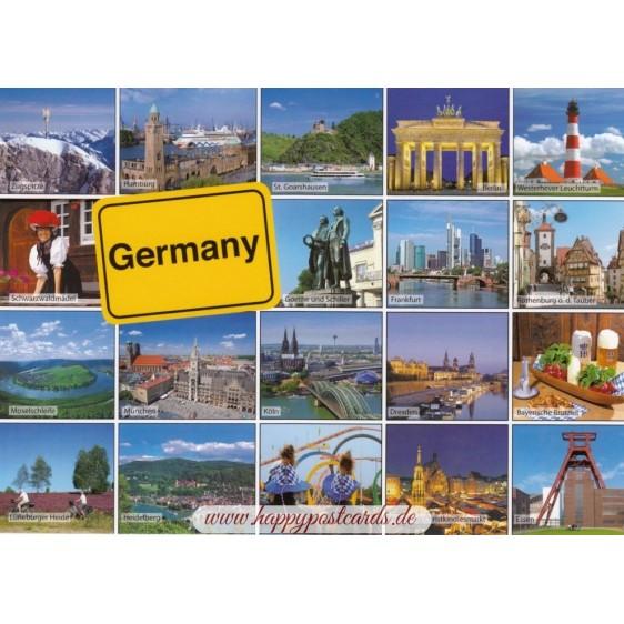 Germany - Multiview - Ansichtskarte