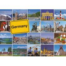 Germany - Multiview - Viewcard