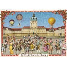 Berlin - Castle Charlottenburg - Tausendschön - Postcard