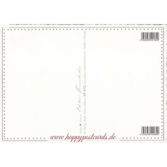 Berlin - Schloss Bellevue - Tausendschön - Postkarte