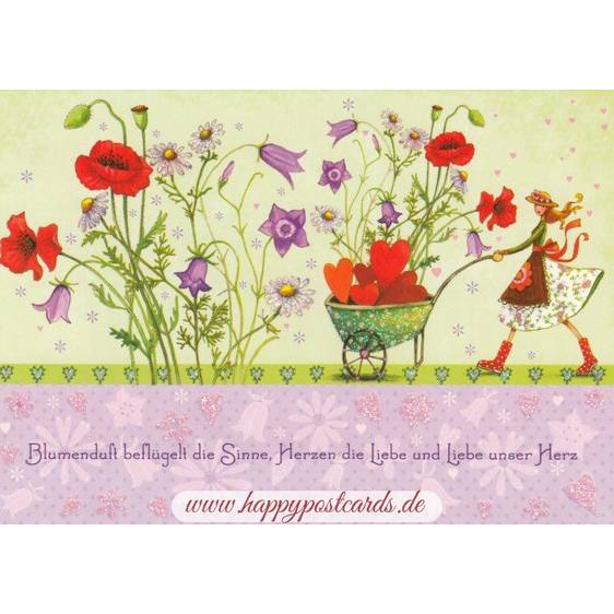 Flower fragrance - Mila Marquis Postcard