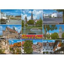 Ulm - Multi - Postcard