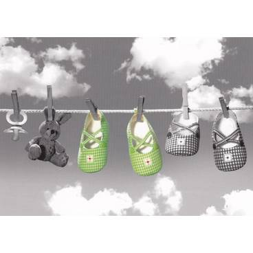 Babyshoes on the Line