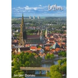 Ulm an der Donau - Postkarte