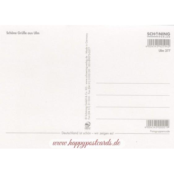 Ulm Stamps - Postcard
