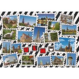 Ulm Briefmarken - Postkarte