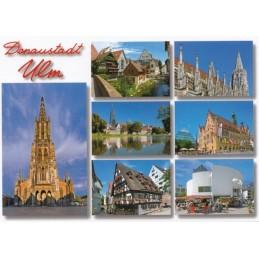 Ulm Multi 2 - Postkarte