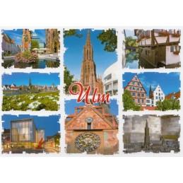 Ulm Multi 3 - Postcard
