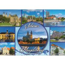 Beautiful Magdeburg - Viewcard