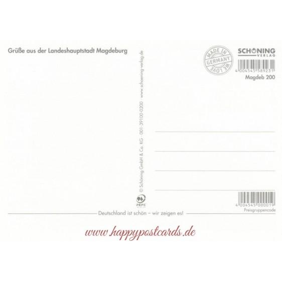 Romantic Magdeburg - Viewcard