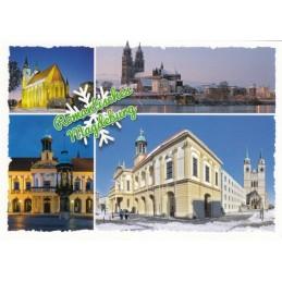Romantisches Magdeburg - Ansichtskarte