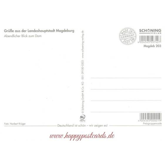 Magdeburg Dom - Viewcard