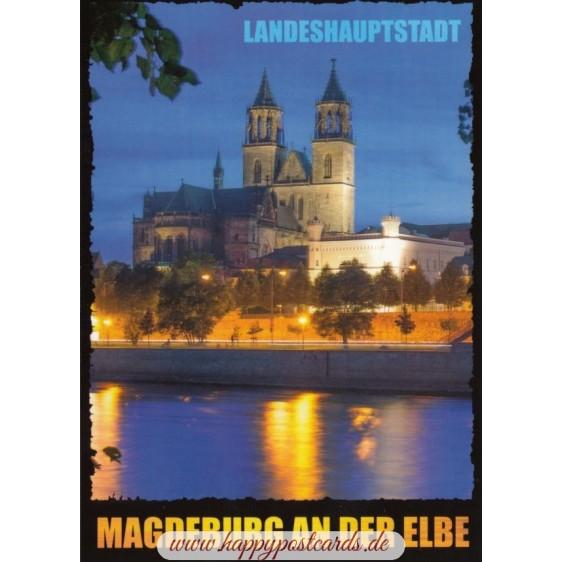 Magdeburg Dom - Ansichtskarte