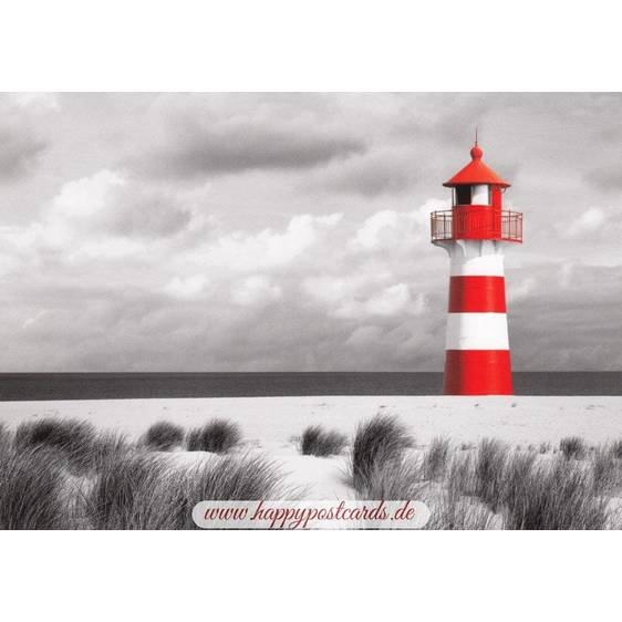Red-white Lighthouse