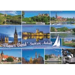 Blue Band Saxony-Anhalt - Viewcard