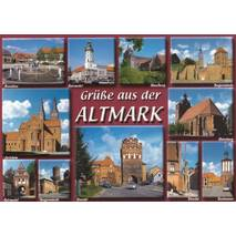 Greetings from Altmark - Viewcard