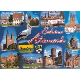 Schöne Altmark - Ansichtskarte