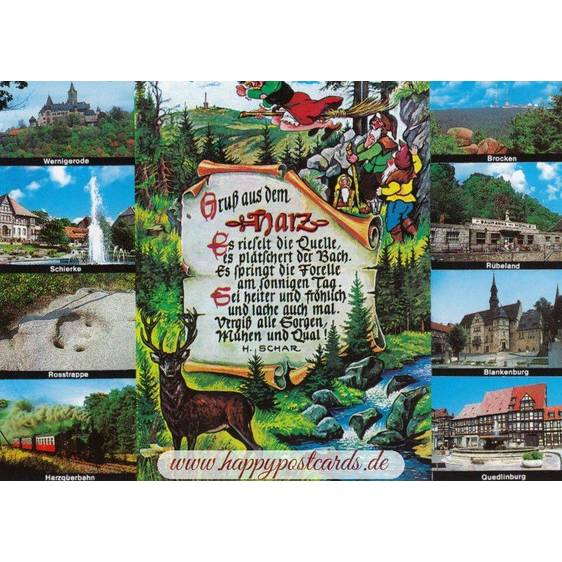 Greetings from Harz - Viewcard