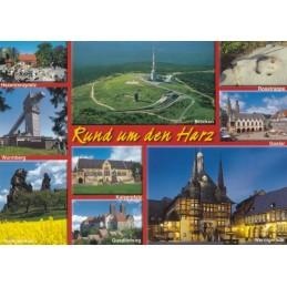 Rund um den Harz - Ansichtskarte