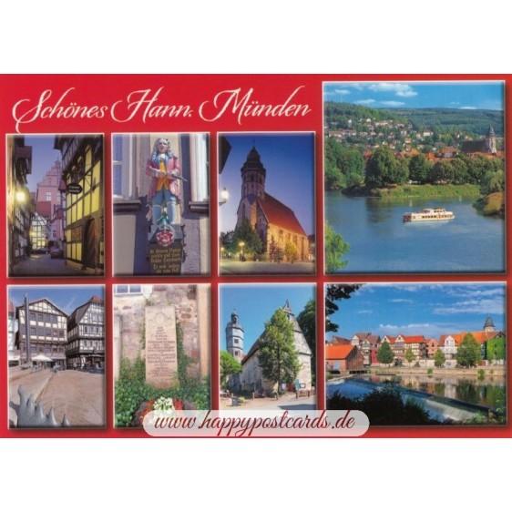Schönes Hann. Münden - Postkarte