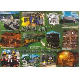 Erzgebirge - Glück auf - Viewcard