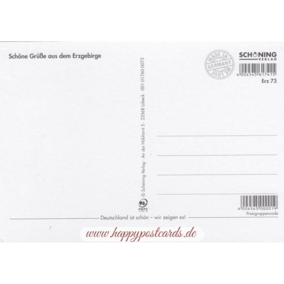 Heavenly Erzgebirge - Viewcard