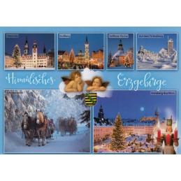 Himmlisches Erzgebirge - Ansichtskarte